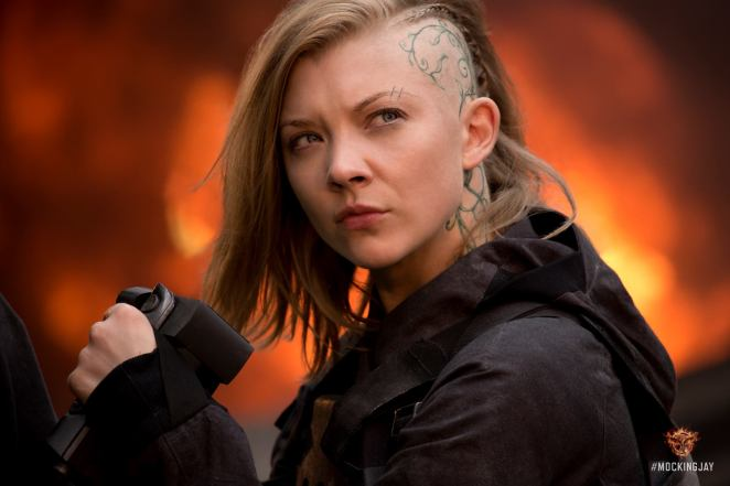 Cressida (Natalie Dormer) in Mockingjay: Part 1